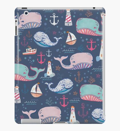 Whale Toss iPad Case/Skin