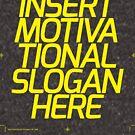 Motivations-Slogan von vomaria