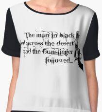 Dark Tower- Gunslinger Women's Chiffon Top