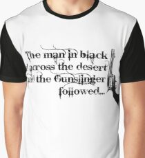 Dark Tower- Gunslinger Graphic T-Shirt