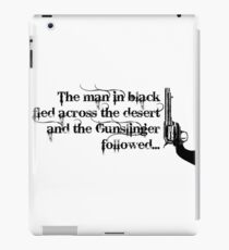 Dark Tower- Gunslinger iPad Case/Skin