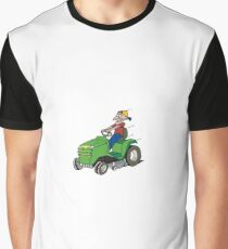 mower Graphic T-Shirt