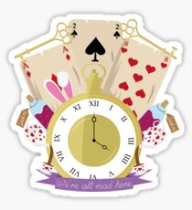 Inspirerd by Alice in Wonderland Sticker