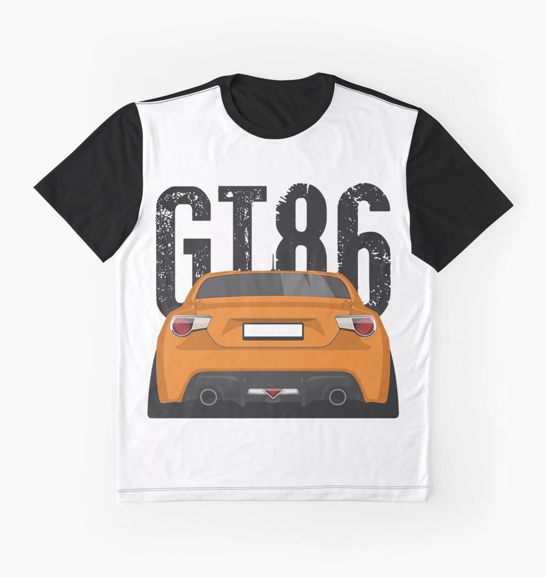 Gt86 design t shirts men s t shirt -  Toyota Gt86 Stance Car Graphic T Shirts