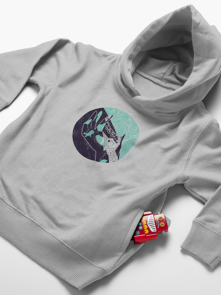 Alternate view of On the hand Toddler Pullover Hoodie