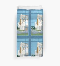 Winery Afternoon Duvet Cover