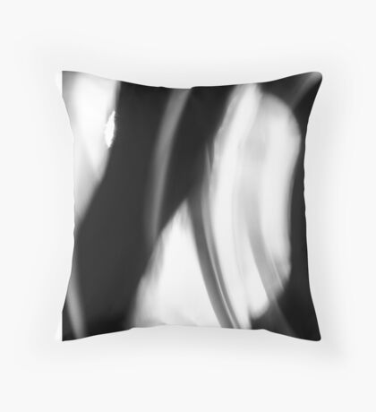 Caged and Abused Throw Pillow