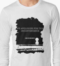 Gods final message.. Long Sleeve T-Shirt