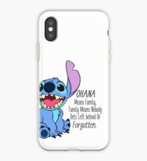 lilo and stitch  iPhone Case