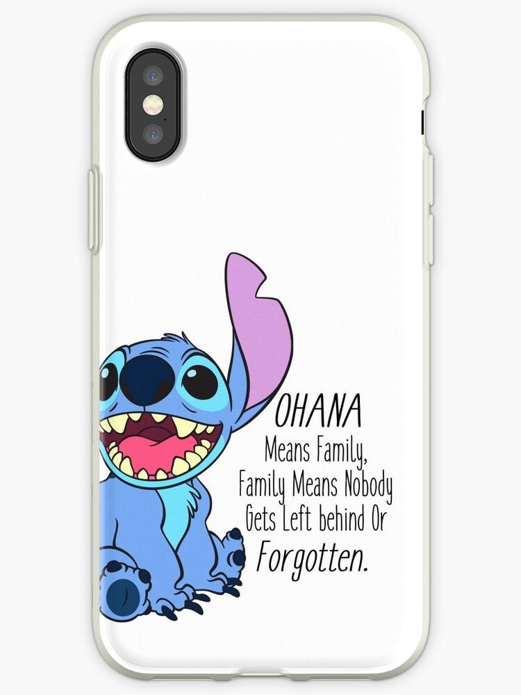 coque iphone stitch xr