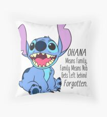 lilo and stitch  Throw Pillow