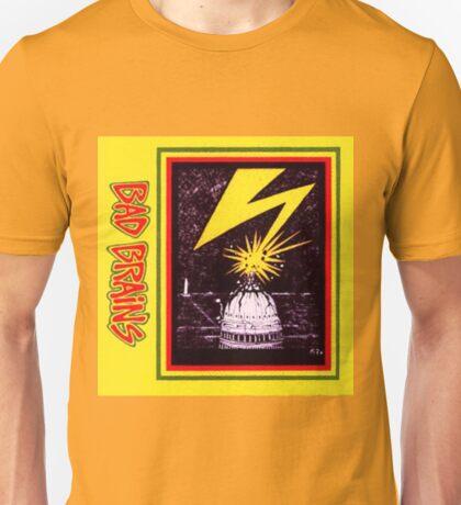 Brains Capitol Lightning Unisex T-Shirt
