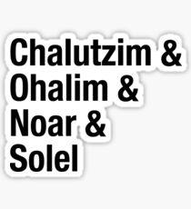 CW Villages Sticker