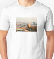 Flying hot air balloon over the Cappadocia Unisex T-Shirt