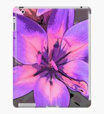 Photoshop lily mauve iPad Case/Skin