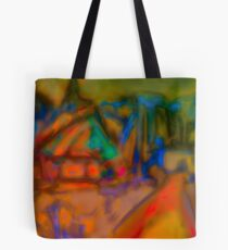 Colorful Abstract Art Laptop Skin Tote Bag