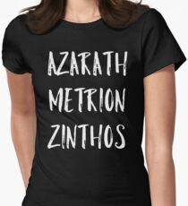 Azarath Metrion Zinthos Women's Fitted T-Shirt