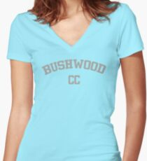 Bushwood Country Club - Caddyshack  Women's Fitted V-Neck T-Shirt