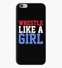 WRESTLE LIKE A GIRL iPhone Case