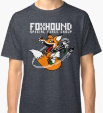 FOXHOUND PIXELART FOX WHITE Classic T-Shirt