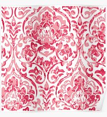 A baroque fabric Poster