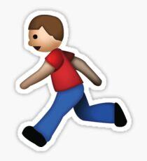 Running man Sticker