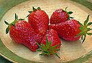Still Life with Strawberries by FrankieCat