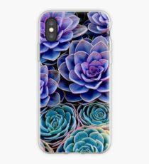Purple Cacti iPhone Case