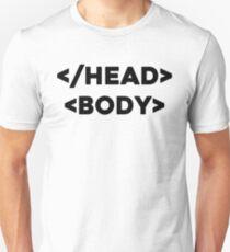 Html Joke Unisex T-Shirt