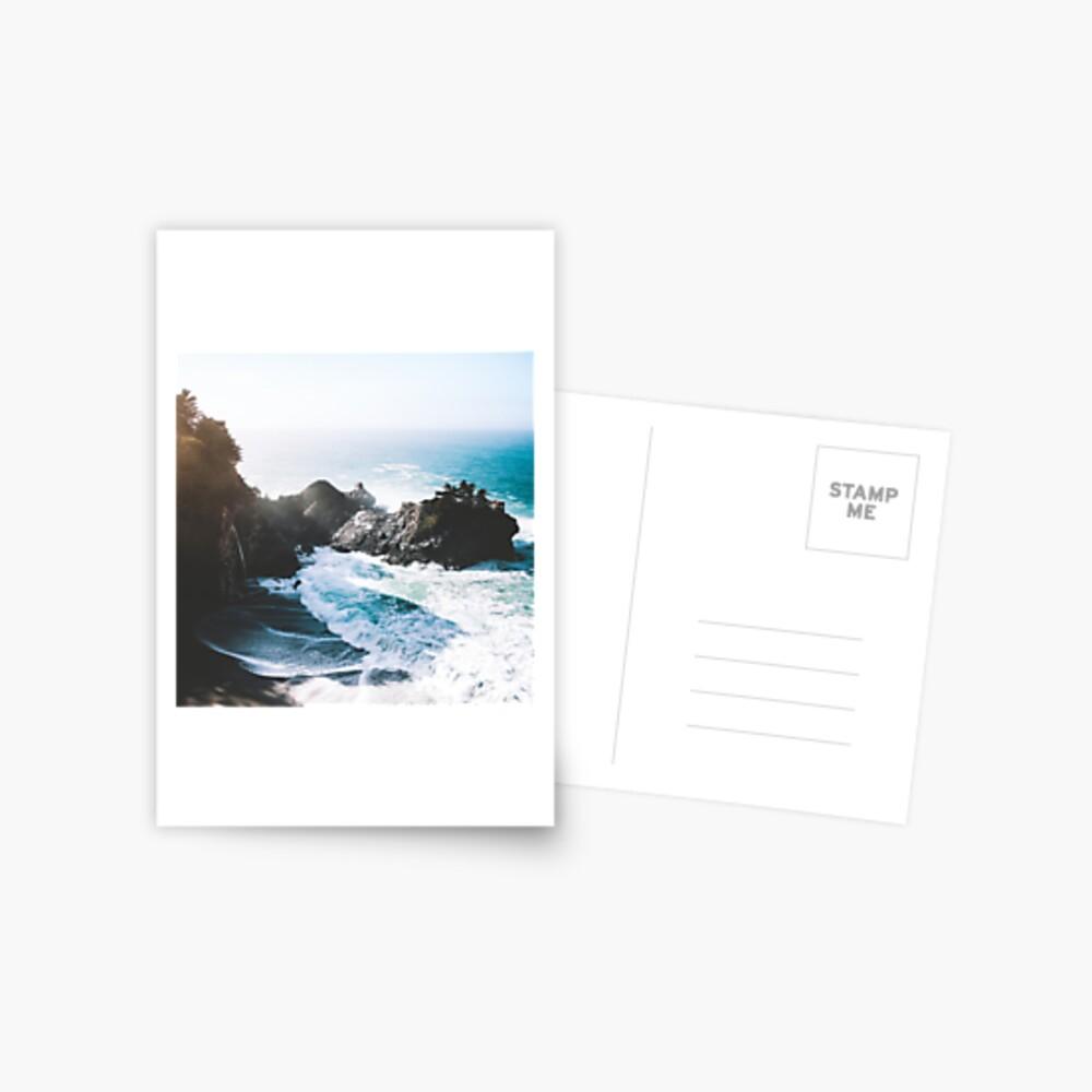 On The Edge Postcard