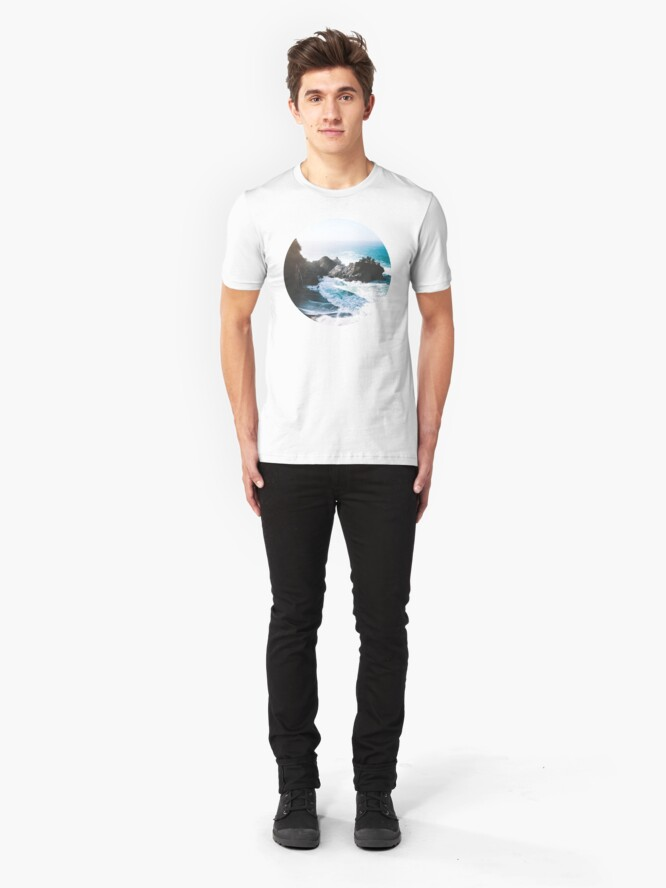 Alternate view of On The Edge Slim Fit T-Shirt