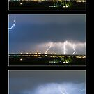 Lightning - Atmospheric Electrostatic Discharge. by Bo Insogna