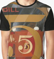 Vintage famous art - Charles Demuth - I Saw The Figure 5 In Gold Graphic T-Shirt