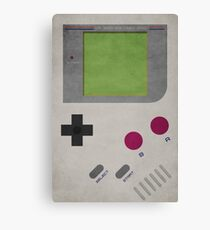 Nintendo Gameboy Canvas Print