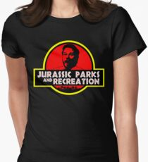 Jurassic Parks and Recreation Womens Fitted T-Shirt