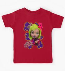 Blooming Clawdeen Kids Tee