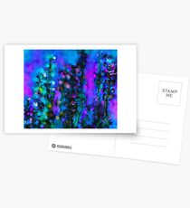Abstract Art Floral Duvet Cover Postcards