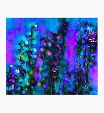 Abstract Art Floral Duvet Cover Photographic Print