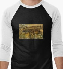 'Workshop' by Vincent Van Gogh (Reproduction) Men's Baseball ¾ T-Shirt