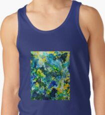 Painted Storm Wave Crash Lovers Tank Top
