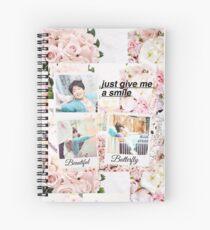 BTS Jungkook Run Polaroids  Spiral Notebook