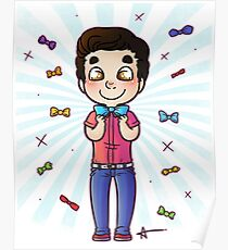 Bow Tie Day Poster