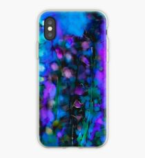 Abstract Art Floral Duvet Cover iPhone Case