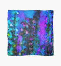 Abstract Art Floral Duvet Cover Scarf