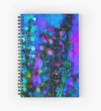 Abstract Art Floral Spiral Notebook