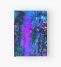 Abstract Art Floral Duvet Cover Hardcover Journal