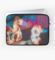 Abstract Duck Art Spiral Notebook Laptop Sleeve