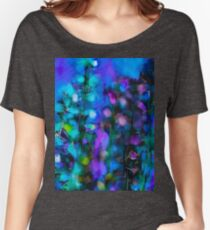 Abstract Art Floral Duvet Cover Women's Relaxed Fit T-Shirt