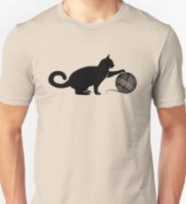Cat play the Wool Unisex T-Shirt