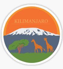 Kilimanjaro Sticker